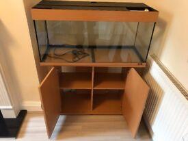 Large Jewel aquarium Fluval 306 filter and accessories