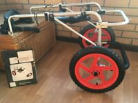 BEST FRIENDS MOBILITY- DOG SUPPORT WHEELCHAIR( LARGE SIZE)...As NewCondition