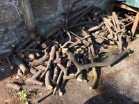 Small logs free for pickup