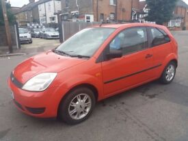 1.2 FORD FIESTA 2002 PETROL MANUAL 75000 MILE HISTORY MOT 18/09/18 LOW MILEAGE CAR 12 MONTH AA COVER