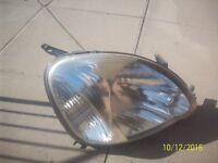 car headlight,right drivers side toyota yaris