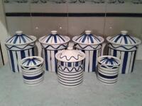 Habitat storage jars
