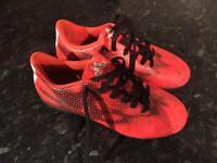Boys adidas football trainers size 1