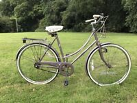 Raleigh Caprice Fast Ladies Town Bike Large 53cm 3speed Sturmey Archer Gears and Fast Archer Wheels
