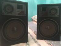 jvc loudspeakers 120 watts