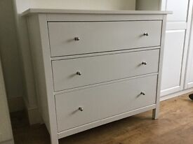 Brand new in boxes ikea chest of drawers