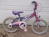 """Girls Magna Bike 16"""" 5-8 yrs"""