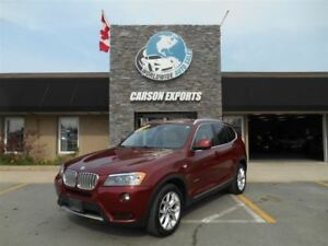 2014 BMW X3 XDrive28I! WOW PANO ROOF! $193.00 BI-WEEKLY+TAX!