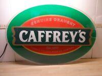 CAFFREY'S PUB SIGN - ILLUMINATED - LARGE -