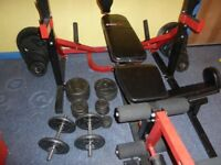 BodyMax Weights and bench.