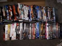 Large Selection of DVD's and CD's approx 70 DVD's 60 CD's