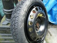vauxhall 16 inch space saver wheel and tyre