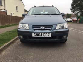 Hyundai Matrix 1.6 GSi 5dr £1,195 p/x welcome 2004 (04 reg), Hatchback