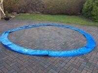 14 ft Trampoline Pad Blue New