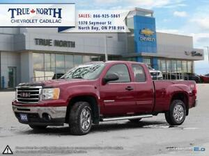 2013 GMC Sierra 1500 Extened Cab Z71 4WD - CHROME GRILLE
