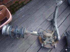 BMW e46 320d front suspension