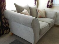 large two-seater sofa excellent condition