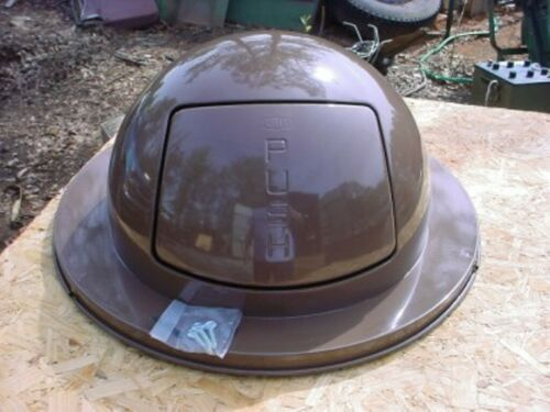Steel Commercial Lid for 55 Gal Drum Trash Can United Metal Receptacle #1855