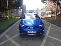 Toyota Auris VVT-I Excel (blue) 2014