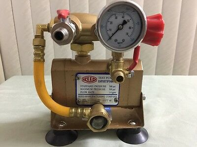 Reed Hydrostatic Dphtp500 Test Pump Drill Powered 500 Psi 12 1.4gpm 08177