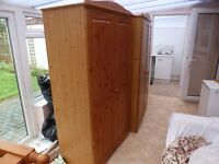 DOUBLE WARDROBE FOR SALE - HOCKLEY ESSEX
