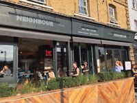 Neighbour in Kentish Town is seeking a Part-Time Kitchen Porter
