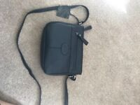 Brand new ladies Navy leather Handbag, unwanted gift