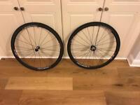 Easton EC90 slx road bike tubular carbon wheels