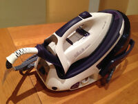 Tefal Protect Anti-calc GV9360 Steam Generator Iron (very good condition)