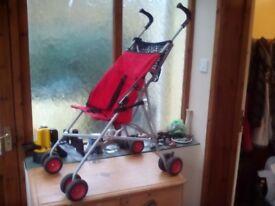 Babystart buggy.