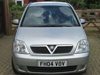 swap estate car or 4x4 /my meriva or sell £1000 years mot, with full service history and old mots