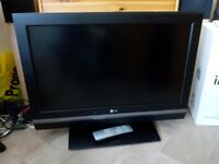 LG 32 inch LCD Television - Unmarked Screen - HDMI / Scart / Computer Inputs