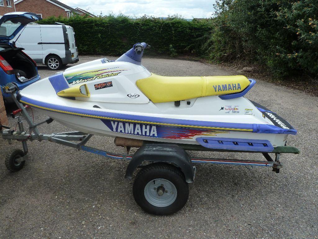 Yamaha wave raider jet ski not seadoo in budleigh for Jet ski prices yamaha