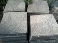 80 x 45cm by 45cm used paving slabs