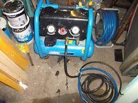 ABAC Air Compressor 110 Volts SPARES or REPAIR