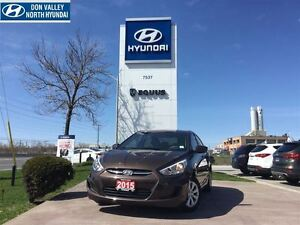2015 Hyundai Accent GL - CLEAN, LOW MILEAGE, HEATED FRONT SEATS