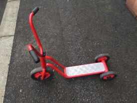 Winther-red Twin-Wheel Scooter Model 433.20 | Age 2-4