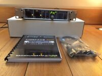 RME Fireface 400 with Apple thunderbolt adapter manual & all cables