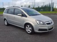 2007 Vauxhall Zafira 1.6 Club 7 Seater ** Superb Condition, New Timing Belt + Clutch, Great Value!!