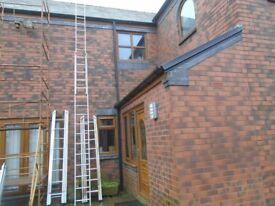 4 m double ladder