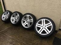 Genuine Chrysler USA 5x112 with new tyres