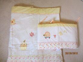 Mamas and Papas bedding set unisex boy girl NEW
