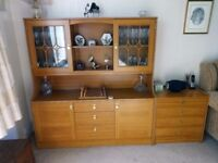 Lounge Furniture 4 matching items : Display Cabinet / Linen Chest / Storage Cupboard / Stereo Unit