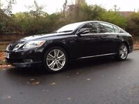 2009 LEXUS GS450 H HYBRID SPORT 110500 MILES FULL MAIN DEALER SERVICE HISTORY 1 FORMER KEEPER ONLY