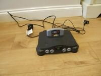 Nintendo 64 console with 1 game