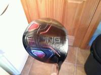 Mizuno mp57 irons, ping i15 driver, answer putter