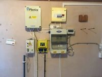 Swimming pool equipment and boiler room works