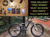 ******MUST GO NOW!!******Giant Trance Mountain bike - New DTSwiss Wheels & Spare