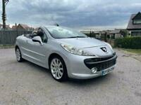 PEUGEOT 207 CC CONVERTIBLE 2009 1.6 LOW MILEAGE PETROL IMMACULATE INSIDE AND OUT DRIVES EXCELLENT
