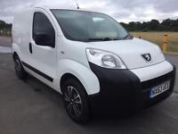 BARGAIN! NO VAT! Peugeot bipper van, full years MOT, full history, ready for work